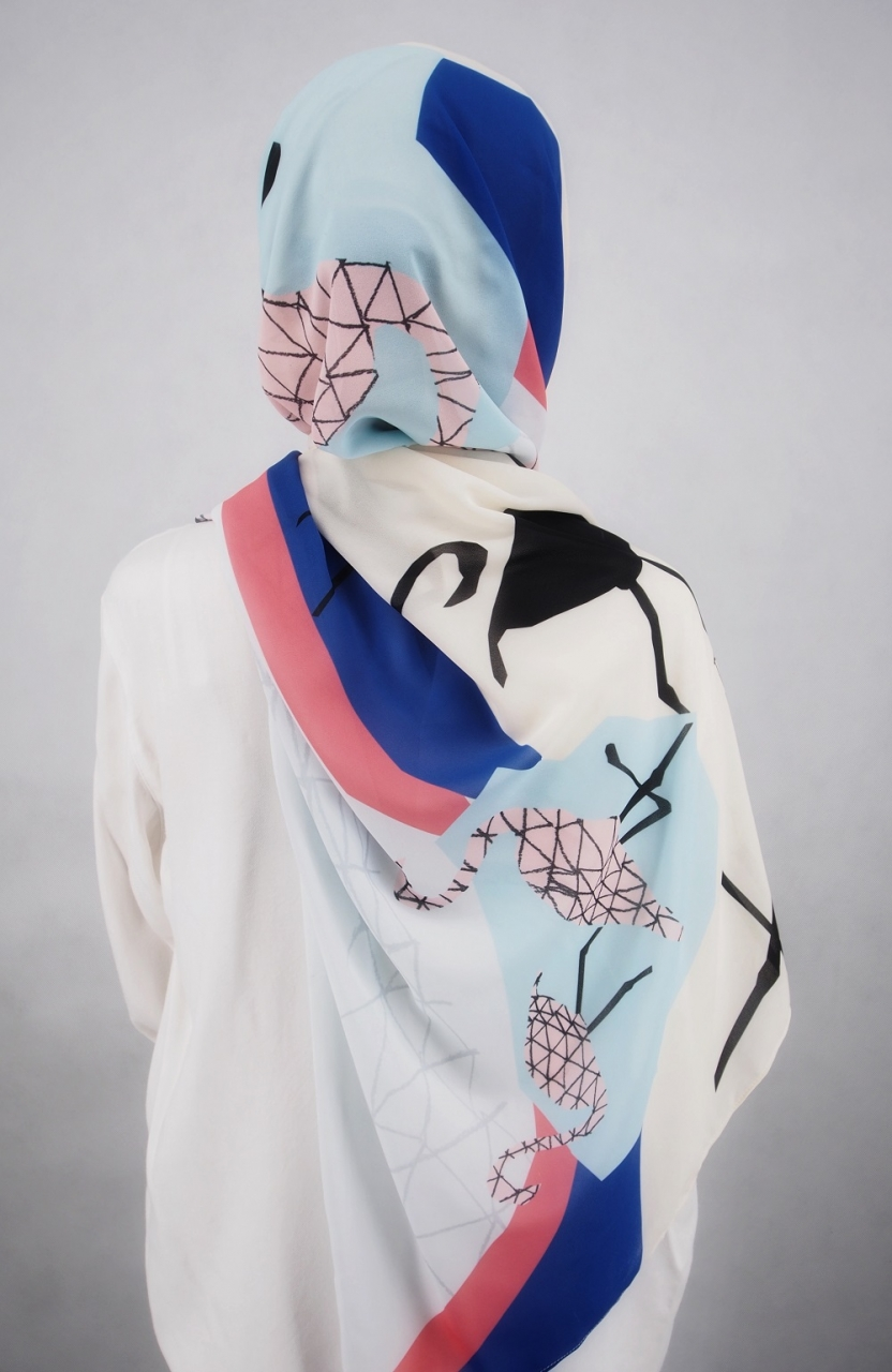 #ResortReady Fabulous Flamingo Set (Inner and Scarf)